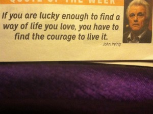 Who wants to be courageous with me ???