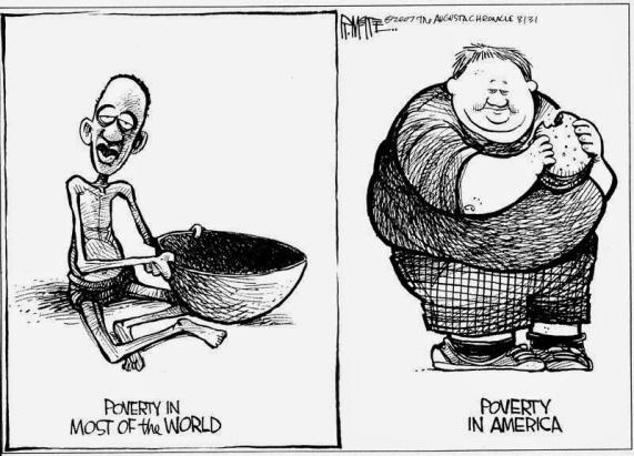 poverty fat thin