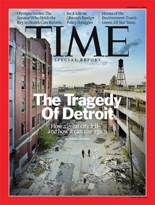 Time cover on Detroit